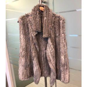 Calypso St. Barth Rabbit Fur Vest